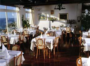Restaurant im Hotel Imperamare